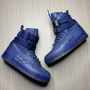 Nike Blue Air Force 1 Special Fields Urban Utility